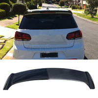 Carbon Rear Trunk Roof Spoiler for Volkswagen Golf 6 r 2009 2013 OSir style not fit for golf6 standard