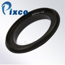 Bague dadaptation arrière Pixco 58mm pour objectif de caméra Fujifilm X