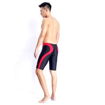 e377a2be4428 2017 traje de baño niños traje de baño hombres bañador bóxer hombre  natación troncos Shorts Sunga competencia Sharkskin Swimsuits
