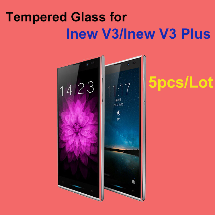 iNew V3 Plus Screen Protector Inew Tempered Glass Film 9H Anti-burst Retail Package - Shenzhen T&R Technology Co.,Ltd store