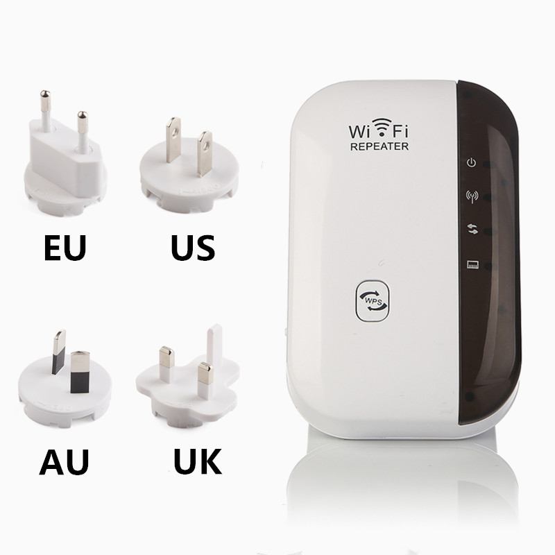 WiFi WiFi Repeater Wifi Extender 300Mbps Wi-Fi Amplificador 802.11N / - Equipo de red - foto 6