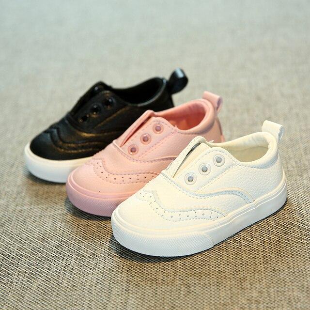 Высокое качество Детская обувь для девочек 1-2-3 лет 2017 осень-весна Дети обувь мальчики дети повседневная обувь дети спорт обувь