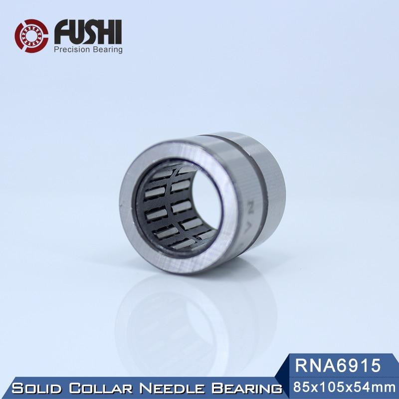 RNA6915 Bearing 85*105*54 mm ( 1 PC ) Solid Collar Needle Roller Bearings Without Inner Ring 6634915 6354915/A Bearing sce2020 bearing 31 75 38 1 31 75 mm 1 pc drawn cup needle roller bearings b2020 ba2020z sce 2020 bearing