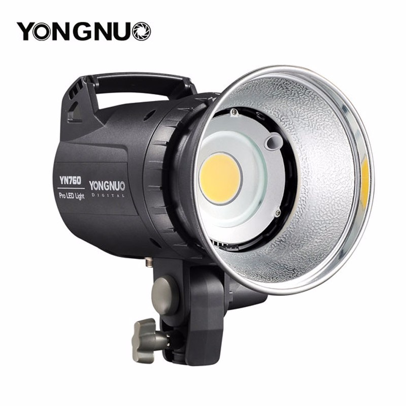 YONGNUO YN760 LED Studio Light Lamp with 5500K Color Temperature and Adjustable Brightness for the Camera Camcorder-in Photographic Lighting from Consumer Electronics    1