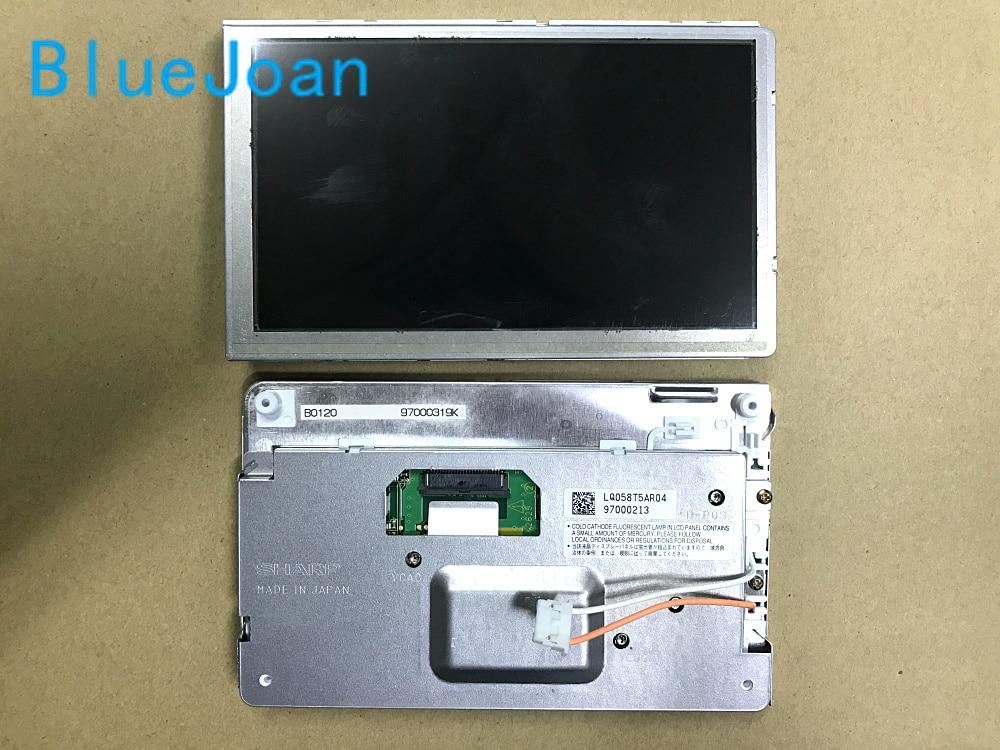 Free shipping 100 new 5 8Inch LCD display LQ058T5AR04 LQ058T5AR03 screen for Mercedes Porski PCM2 1