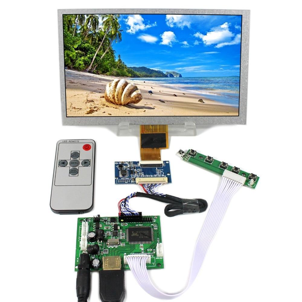 HDMI LCD Controller Board With 8inch 1024x600 ZJ080NA-08A LCD Screen tm070rdhp11 tm070rdhp11 00 blu1 00 tm070rdhp11 00 lcd displays screen