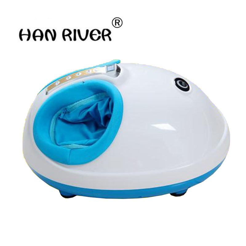 цена на YD-129 Health Care Reflexology Infrared Magnetic Electric Foot Massager Machine Kneading Shiastu Heating
