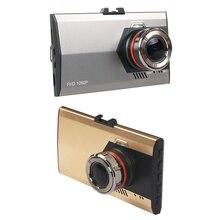 Мини Автомобильный видеорегистратор авто Камера видеорегистраторы 3.0 дюймов супер тонкий dashcam Регистраторы видео регистратор видеокамера Ночное видение черный ящик регистраторы