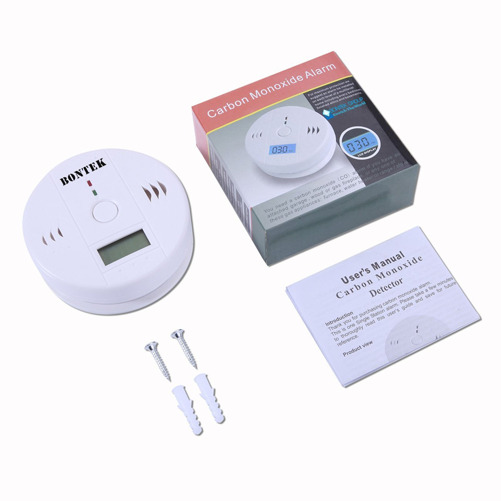 Battery Operated Water Heater Carbon Monoxide Alarm Wall Mounted Cod 110k Portable Carbon