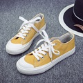 2017 Free shipping summer autumn high quality low canvas shoes breathable flat-bottomed single classic women's casual shoes