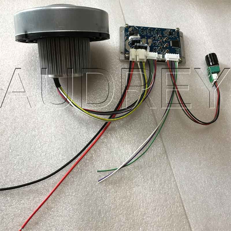 цена на FREE SHIPPING 24V Brushless DC Centrifugal Motor AND Drive for Planter 1200LPM 150W 8kPa High Pressure Fan With Hall sensor