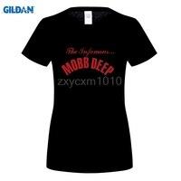 GILDAN Mobb Deep-Infâme T-Shirt M-Noir T Shirt Discount 100% Coton T Shirt Pour femmes Imprimé femmes T-Shirt vêtements