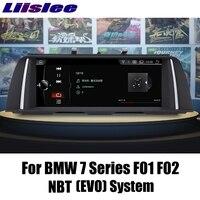 LiisLee For BMW 7 F01 F02 2012~2015 For NBT System EVO ID6 CarPlay Adapter Car Multimedia Player GPS Audio Radio Navigation NAVI