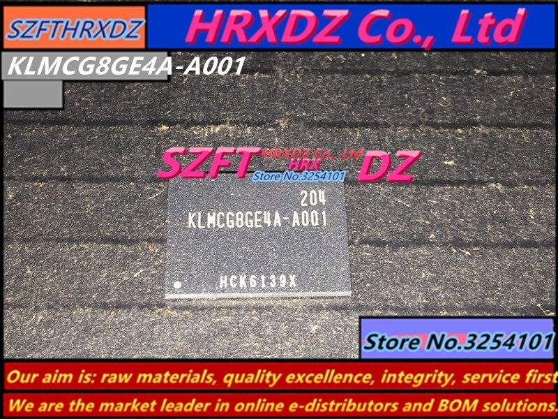 все цены на SZFTHRXDZ 100% new original KLMCG8GE4A-A001 BGA KLMCG8GE4A A001 64G онлайн