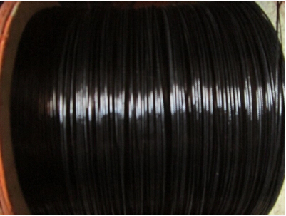 Diameter 1mm Stainless Steel Wire Rope Plastic Coated Black 100 ...