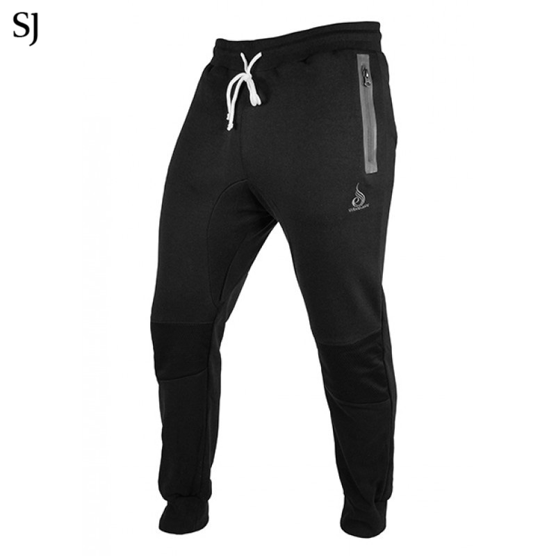 2018 Mens Pants Bodyboulding Cotton Clothing Street Trousers Fitness Jogger Sweatpants Casual Sweat Pants