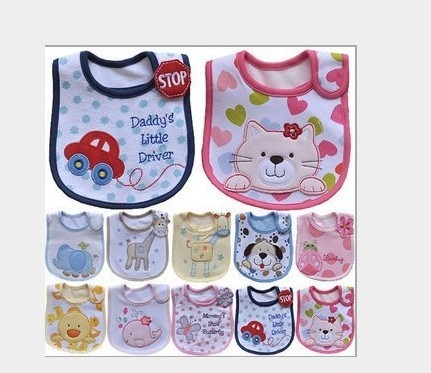 free shipping (can pick paragraph) carter bib carter 's children waterproof bib. necessary bib saliva towel