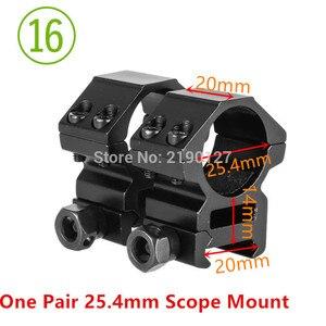 Image 4 - Крепежное кольцо для оптического прицела 30 мм/25,4 мм 11 мм/20 мм ласточкин хвост рельсы высокий профиль низкий профиль для прицела охотничье крепление