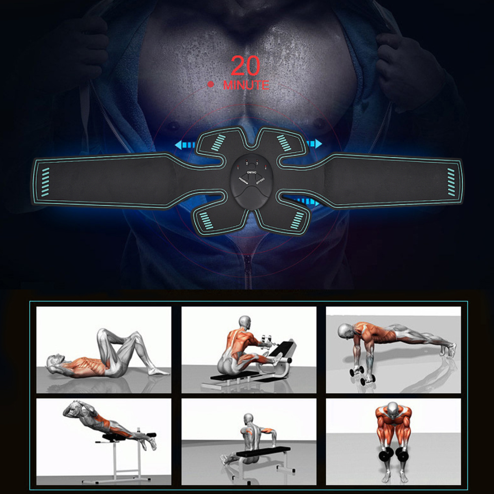 Electro EMS Abs Toner and body shaping machine
