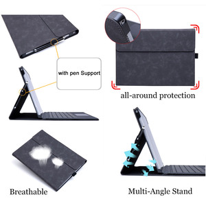 Image 3 - Flip Case for Microsoft Surface Pro 3 Multi Angle Stand Cover Waterproof Soft Shell Compatible with Keyboard for Surface Pro3