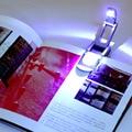 Бесплатная доставка Черный Гибкая Складной LED Клип На Чтение Книги Свет Лампы Для Чтения Kindle Горячий Поиск