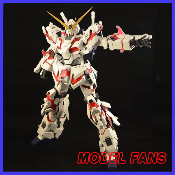 MODEL FANS DABAN Gundam assembly model PG 1/60 RX-0 Unicorn Destroy Unchained + LED Unit Mobile Suit kids toys model fans m3 model pg 1 60 red heresy gundam special large sword backpack gift water paste free shipping