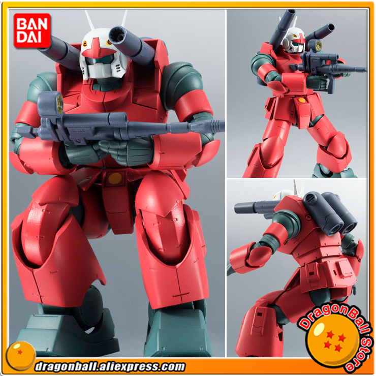 Mobile Suit Gundam Original BANDAI Tamashii Nations Robot Spirits No. 203 Action Figure - RX-77-2 Guncannon ver. A.N.I.M.E. mobile suit gundam the origin volume 1 activation