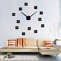 Настенные часы в современном стиле  Новое поступление  зеркальный эффект  натюрморт  сделай сам  украшение дома  наклейки на стену  кварцевы...