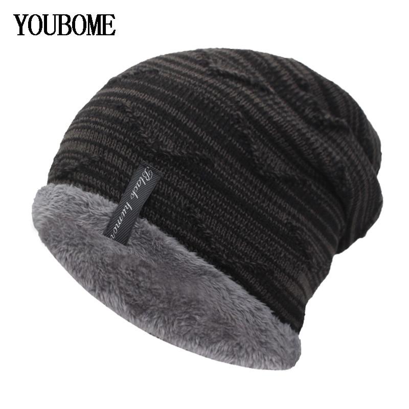 Winter Beanies Knitted Hat Men Winter Hats for Women Fashion Bonnet Soft Mask Gorros Beanie Hats Cap