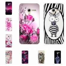 Para alcatel um toque pop 3 capa tpu para alcatel pop 3 5.0 5015 5015d 5065a 5016a caso padrão floral para alcatel pop 3 coque(China)
