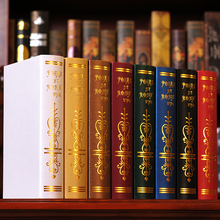8PC book  European simulation Photography study bookcase props Fake mode box 0516 decoration Book
