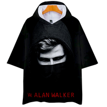 Alan Walker Idol occident Basic 3D Print Popular kpop fashion Casual Hoodies Tshirt Street Short Sleeve College Autumn/Summer alan walker warsaw