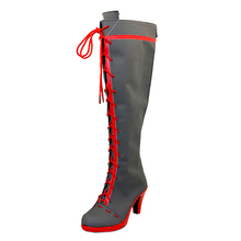Baka and Test FFF Female Senior Member Mihnah Cosplay Womens Boots Custom Made Halloween High Quality