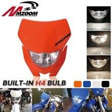 Motorrad Off Scheinwerfer Für Yamaha Honda WR 450 250 YZ TTR Enduro Supermoto Dirt Bike Motocross Scheinwerfer Verkleidung