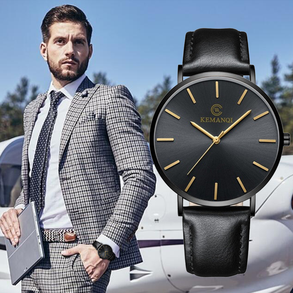 Relogio Masculino Top Brand Watches Ultra-thin Quartz Watch Men Watch Business Wristwatch Fashion Men's Watches Erkek Kol Saati
