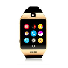 Q18 Fashion Health Smart Watch Men Passometer With Touch Screen Camera Support TF Card Sport Bluetooth Smartwatch