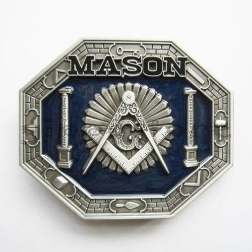 Low price custom belt buckle big discount Masonic Belt Buckle wholesale Freemasonry Belt Buckle cheap Freemason Belt Buckle in Buckles Hooks from Home Garden