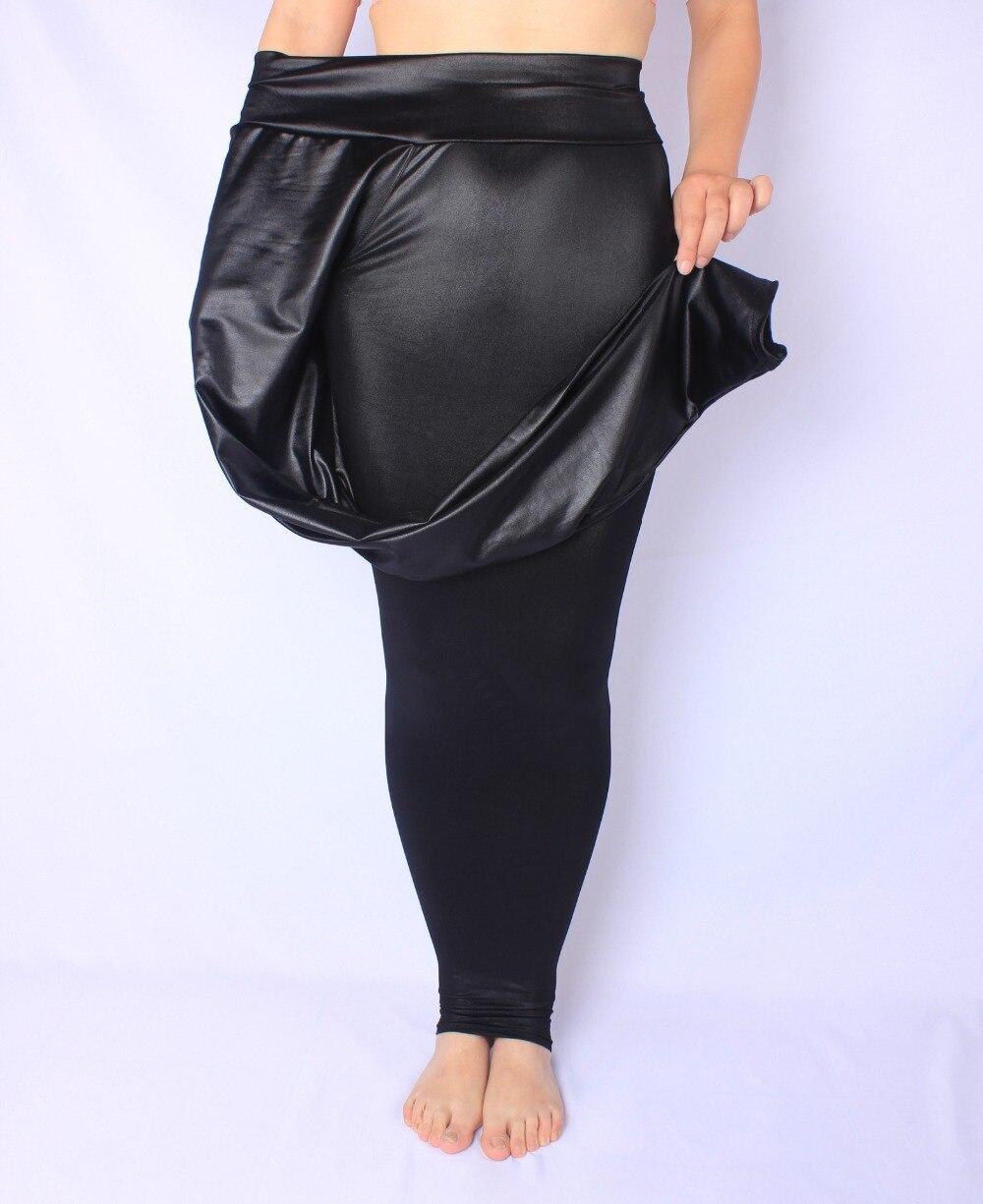 Women Autumn Leggings Plus Size 5XL 6xl 7xl Big Sizes Large Slim Legging Pants Black Warm All-match
