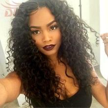 Soft Human Hair Indian Loose Curly Lace Front Wig With Babyhair Affordable Full Lace Frontal Wigs Weave Glueless Indian Wavy Wig