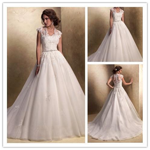 Vestido De boda Vintage mangas 2015 nuevo estilo Vestido De ...