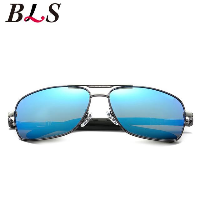 134e2575c2 Matrix Sunglasses rectangle frame Men Original Brand designer HD Polaroid  Driving mirror Polarized Male square unisex Sunglasses