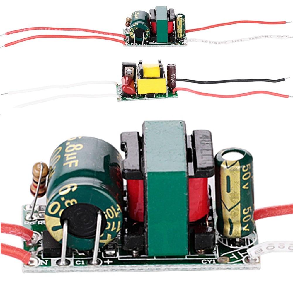 LED Driver 3W 4W 5W 7W For LEDs AC 110V 220V Power Supply Constant Current Voltage Control Lighting Transformers To 3-12V 12-24V