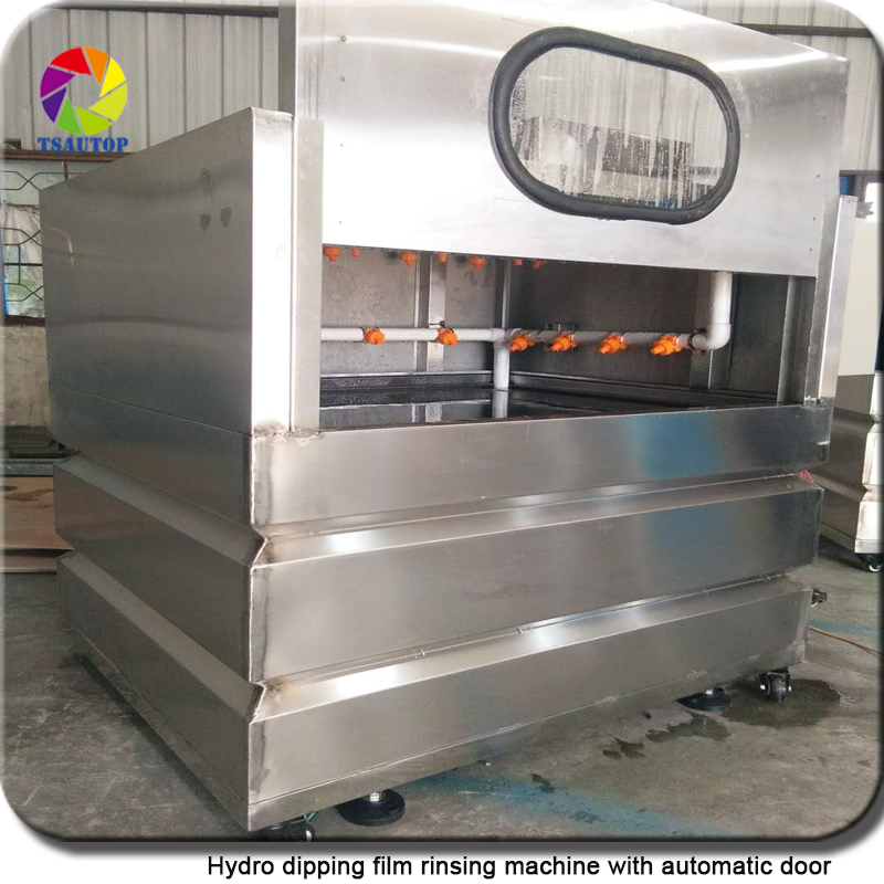 WT002 Hydrographics Film Rinse Machine Automatic Door Washing Tank For Water Transfer Printing Wash Machine