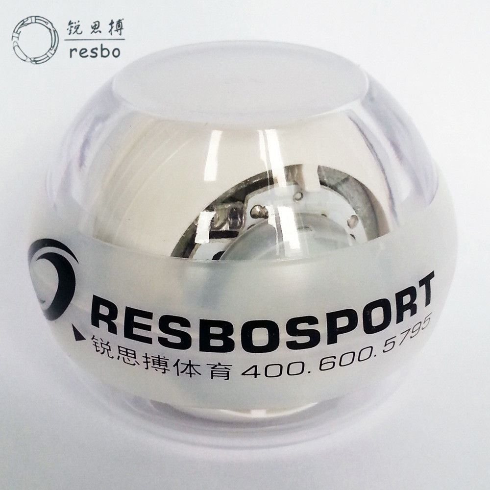 Resbo New Mini Gyroscope Workout Wrist Arm Green Hand Muscle Force Power Exercise Strengthen Ball Trainer Fitness Equipment