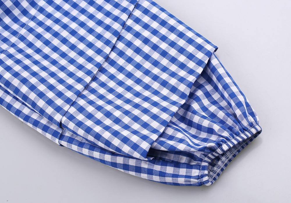 HTB1T79hPVXXXXcxXFXXq6xXFXXXN - V-Neck Lantern Sleeve Blue Women Blouses Shirts JKP160