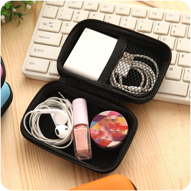 Universal Solid Color Travel Accessories Bag