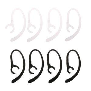 1 par anti-perdido macio bluetooth fone de ouvido gancho clipe fone de ouvido suporte fone de ouvido gancho braçadeira titular orelha loop asas 6/7/8/9mm