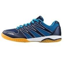 אמיתי Stiga טניס שולחן נעלי לגברים נשים פינג פונג מחבט נעל ספורט מותג סניקרס CS 3621