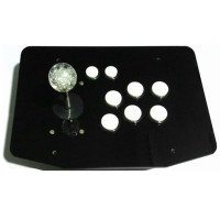 High quality Acrylic panel PC computer USB arcade joystick gamepad game controller joypad plug and play