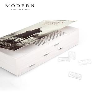 Image 4 - Marcador de página de metal para leitura, seta, embalagem de caixa de presente, itens de papelaria, livro, marcador de metal para livros, marcador de livros de metal